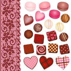 バレンタイン チョコレート いろいろ