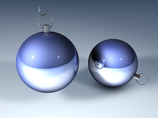 3D Weihnachtskugeln - 4