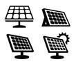 solar panel icon - 73454372