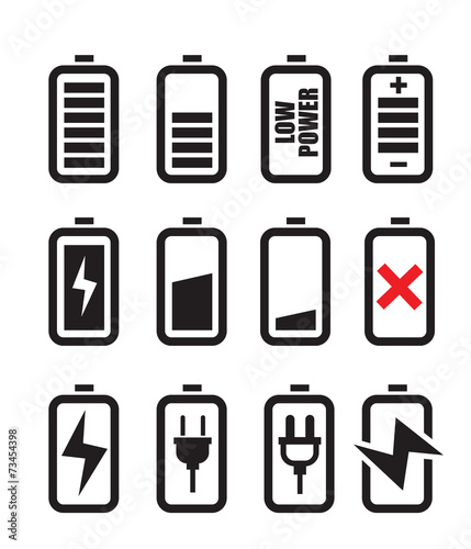battery icon - 73454398