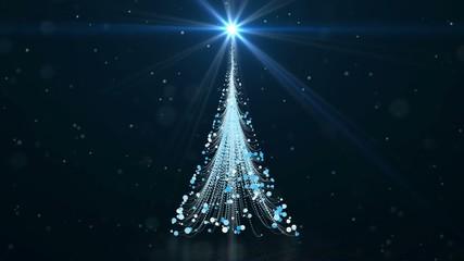 Animated Christmas background