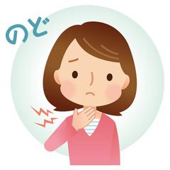風邪の女性 症状