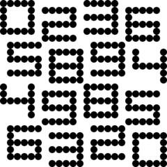 Seamless Numeric Pattern