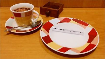 Aufgehendes Frühstück Illusion