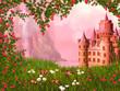 Obrazy na płótnie, fototapety, zdjęcia, fotoobrazy drukowane : Fairy tale landscape