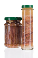 jars of anchovy fillets