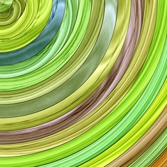Abstract quarter circle colored planks background