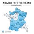 Nouvelle carte des régions françaises