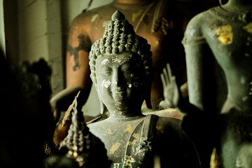 Old Lanna Buddha statue