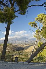 Kreta, Landschaft mit Ida-Gebirge.