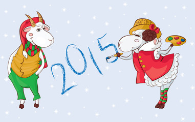 goat sheep 2015