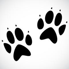 Animal print VECTOR icon.