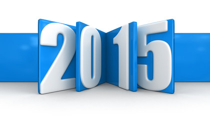 New Year 2015 (clipping path included)