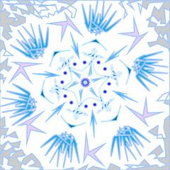 winter pattern vector