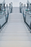 Stairs in a subway station