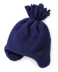 blue snow hat
