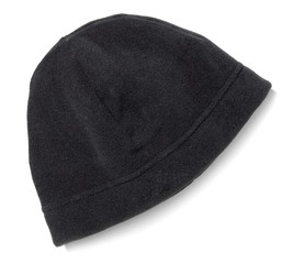black snow hat