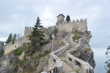 Fortress in San Marino