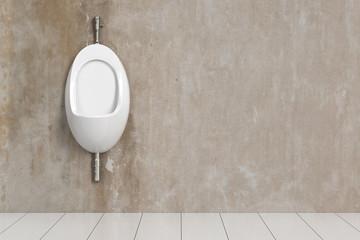 Sauberes Urinal im WC
