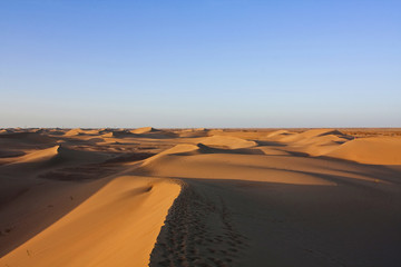 desert in north China