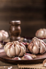 Close up of garlic