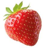 Ganze Erdbeere