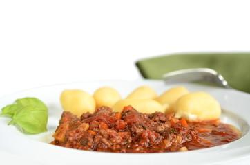 gnocchi italienische Küche