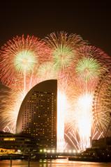 横浜の花火大会