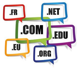 adresse web, .com