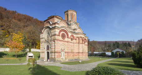 The orthodox monastery Kalenic in Serbia