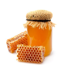 Honey and honeycomb