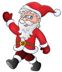 Santa Claus walk theme 1