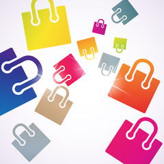 abstract background: bag
