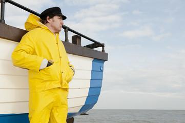 Pensive Fisherman
