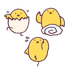 ひよこポーズ-07