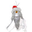 Cute Monster Santa Claus