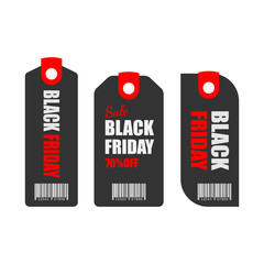 black friday sale tag design.vector