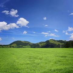 Landschaft mit Berge