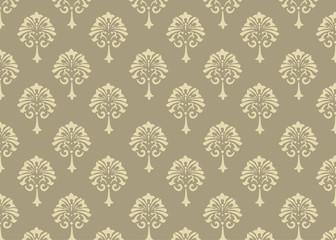 Victorian Damask Pattern