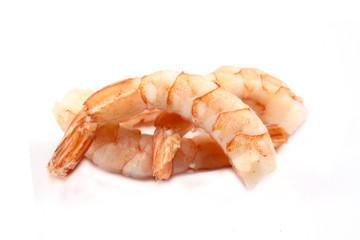 queues de crevettes