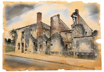 macerie ad Oradour sur Glane