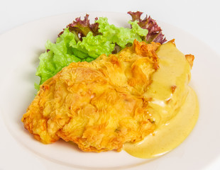 chicken fillet with cheese