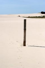 Pfahl im Sand