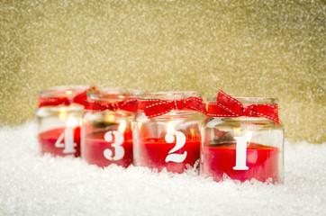 1,2,3,4. advent