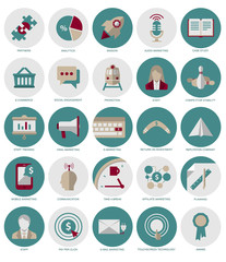 Marketing and Management icons part2