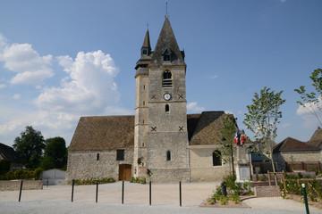 France, the picturesque village of La Chaussée d Ivry