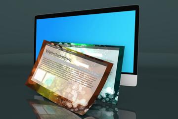 All in one Computer und generische Webseite