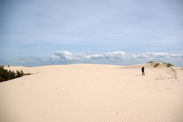 verlassen im Sand