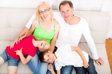 Familienidylle
