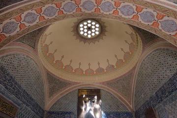 Interior of Topkapi Palace, Istanbul, Turkey